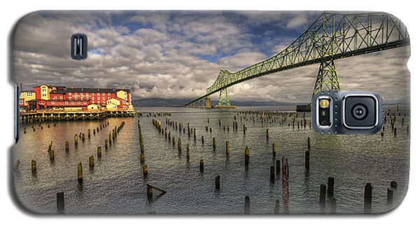 Cannery Pier Hotel And Astoria Bridge Galaxy S5 Case