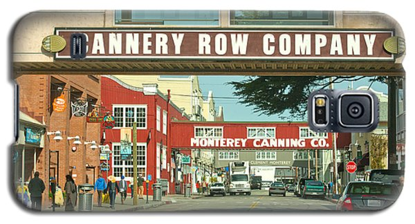 Cannery Row Monterey California Galaxy S5 Case by Artist and Photographer Laura Wrede