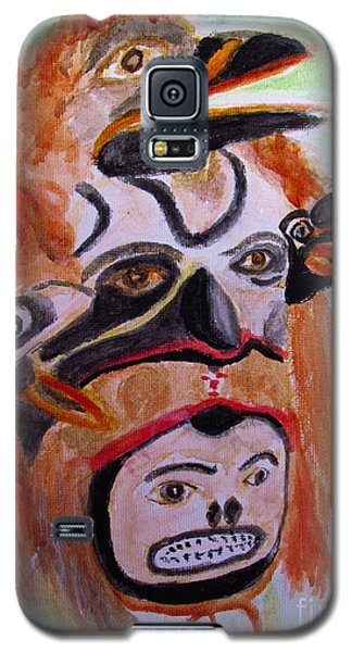 Cannibal Indian Mask Galaxy S5 Case