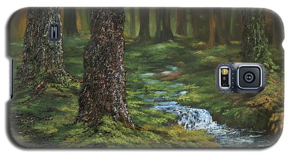 Cannock Chase Forest Galaxy S5 Case by Jean Walker