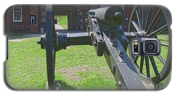 Cannon At Fort Pulaski Main Entrance Galaxy S5 Case by D Wallace