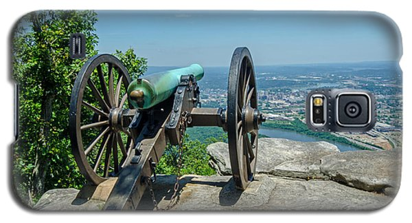 Galaxy S5 Case featuring the photograph Cannon At Point Park by Susan  McMenamin