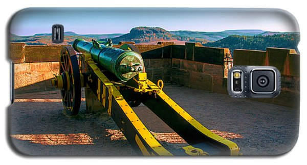Cannon At The Fortress Koenigstein Galaxy S5 Case