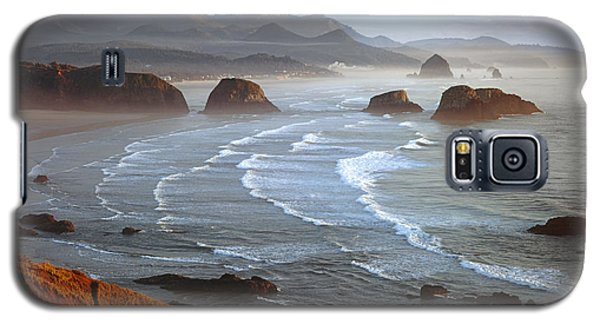 Cannon Beach At Sunset Galaxy S5 Case