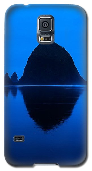 Cannon Beach Blue Galaxy S5 Case