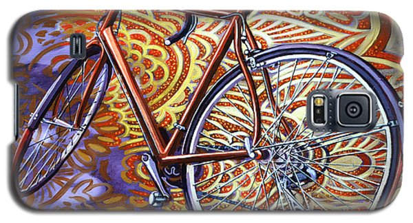 Galaxy S5 Case featuring the painting Cannondale by Mark Howard Jones