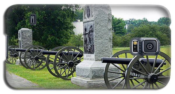 Cannons At Gettysburg Galaxy S5 Case by J Jaiam