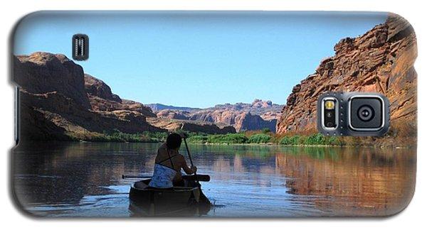 Canoe Trip Galaxy S5 Case