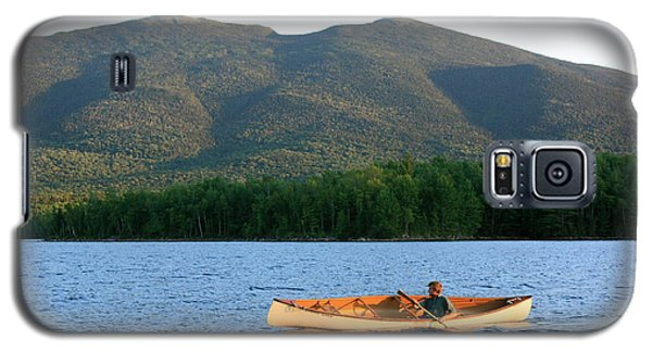 Canoeing Flagstaff Lake Galaxy S5 Case