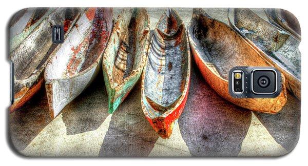 Transportation Galaxy S5 Case - Canoes by Debra and Dave Vanderlaan