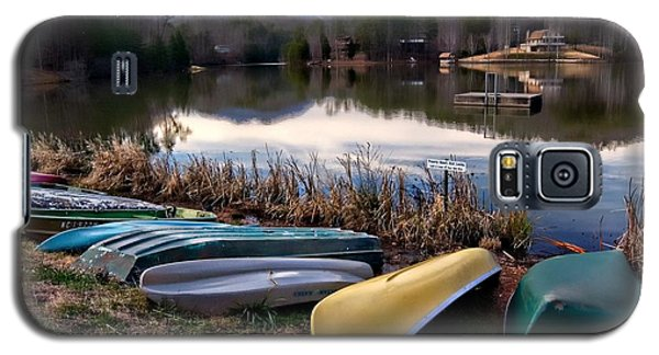 Canoes In Nc Galaxy S5 Case