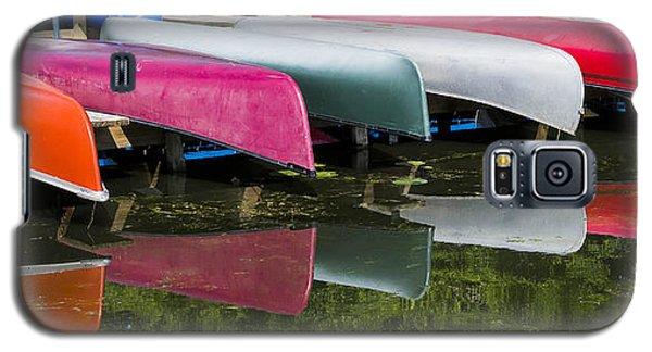 canoes - Lake Wingra - Madison  Galaxy S5 Case