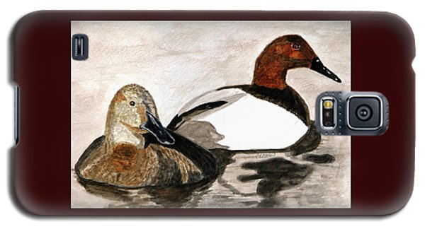 Canvasback Couple Galaxy S5 Case by Angela Davies