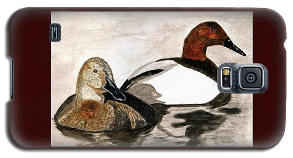 Canvasback Couple Galaxy S5 Case