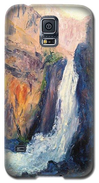 Canyon Blues Galaxy S5 Case by Gail Kirtz