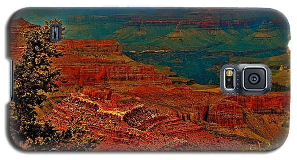 Canyon Colours Show Through Galaxy S5 Case by Jim Hogg