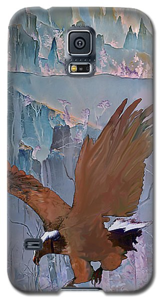 Canyon Flight Galaxy S5 Case by Ursula Freer