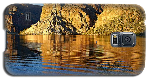 Canyon Lake Reflections Galaxy S5 Case