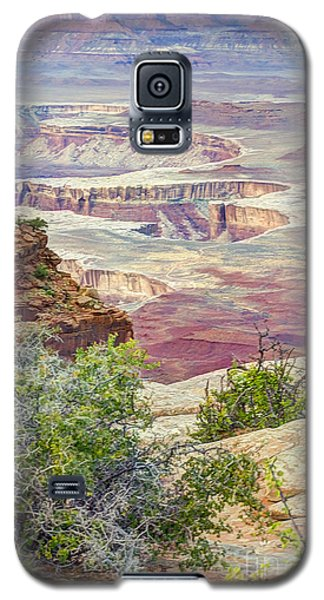Canyon Lands Galaxy S5 Case by Wanda Krack