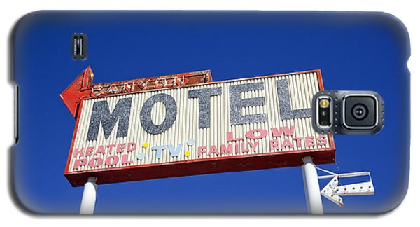 Canyon Motel Sign Galaxy S5 Case