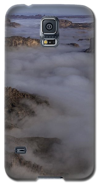 Canyon Rims Float In Fog Galaxy S5 Case