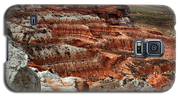 Galaxy S5 Case featuring the photograph Canyon Walls by Farol Tomson