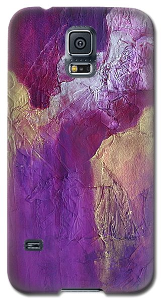 Galaxy S5 Case featuring the painting Canyonlands by Nancy Jolley