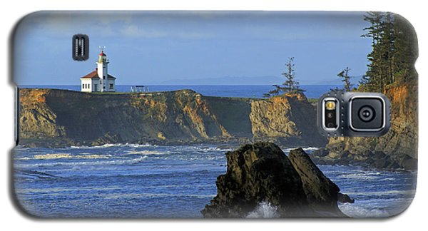 Cape Arago Lighthouse Galaxy S5 Case