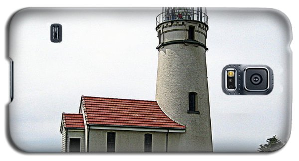 Galaxy S5 Case featuring the photograph Cape Blanco Lighthouse by AJ  Schibig