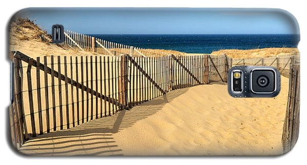 Cape Cod Beach Galaxy S5 Case by Mitchell R Grosky