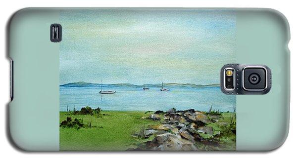 Cape Cod  Boats Galaxy S5 Case by Judith Rhue