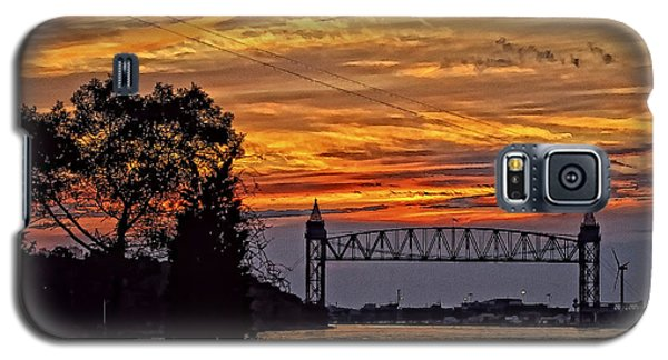 Cape Cod Canal Sunset  Galaxy S5 Case by Constantine Gregory