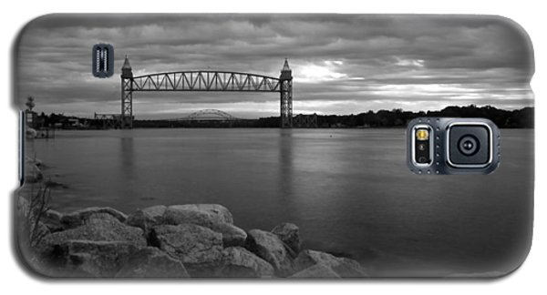 Galaxy S5 Case featuring the photograph Cape Cod Canal Train Bridge by Amazing Jules