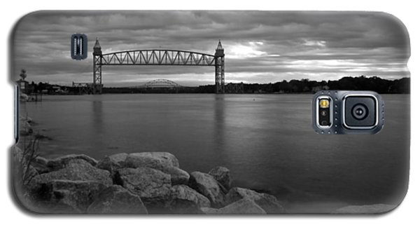 Cape Cod Canal Train Bridge Galaxy S5 Case by Amazing Jules