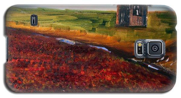 Cape Cod Cranberry Bog Galaxy S5 Case