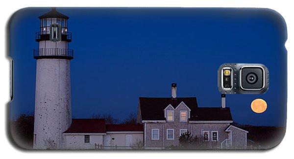 Cape Cod Moonset Galaxy S5 Case