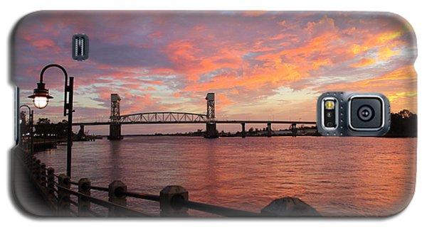Cape Fear Bridge Galaxy S5 Case by Cynthia Guinn