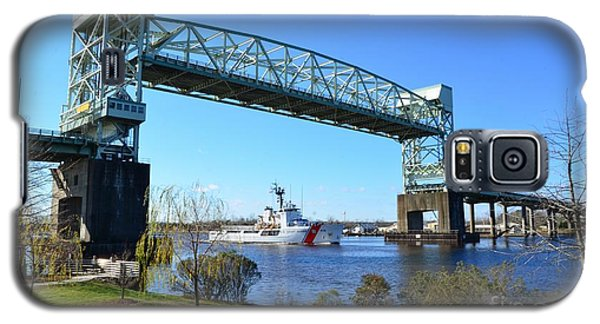 Cape Fear Draw Bridge  Galaxy S5 Case by Bob Sample