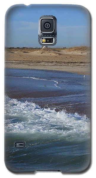 Galaxy S5 Case featuring the photograph Cape Hatteras Lighthouse Nc by Mountains to the Sea Photo