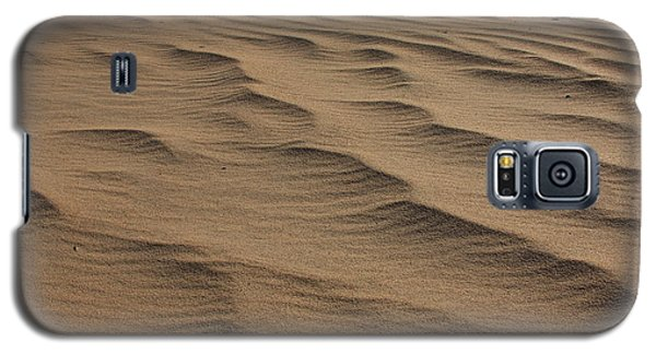 Galaxy S5 Case featuring the photograph Cape Hatteras Ripples In The Sand-north Carolina by Mountains to the Sea Photo