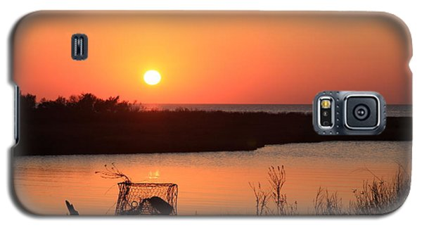 Galaxy S5 Case featuring the photograph Cape Hatteras Sunset-north Carolina by Mountains to the Sea Photo