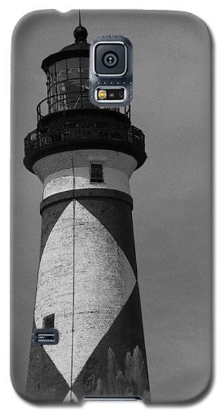 Cape Lookout Light Black And White 2  Galaxy S5 Case