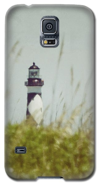 Cape Lookout Lighthouse - Vintage Galaxy S5 Case by Kerri Farley