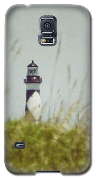 Cape Lookout Lighthouse - Vintage Galaxy S5 Case