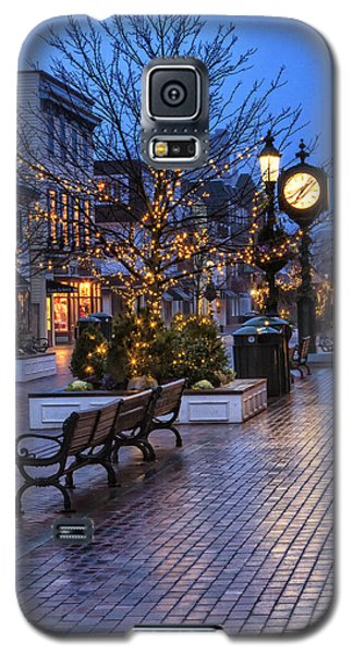 Cape May Christmas Galaxy S5 Case