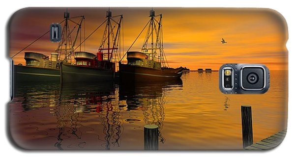 Cape May Fishing Boats Galaxy S5 Case