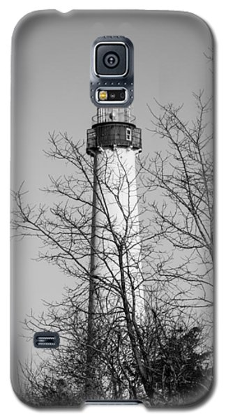 Cape May Light B/w Galaxy S5 Case