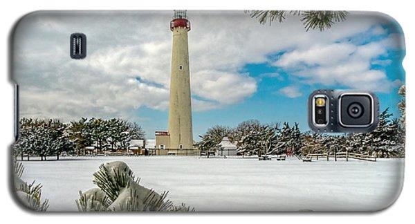 Cape May Light Thru Snowy Trees Galaxy S5 Case