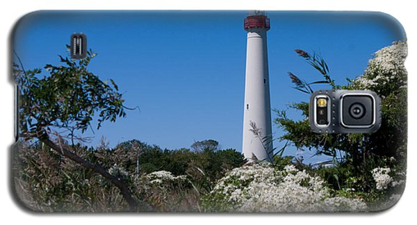Galaxy S5 Case featuring the photograph Cape May Lighthouse by Greg Graham