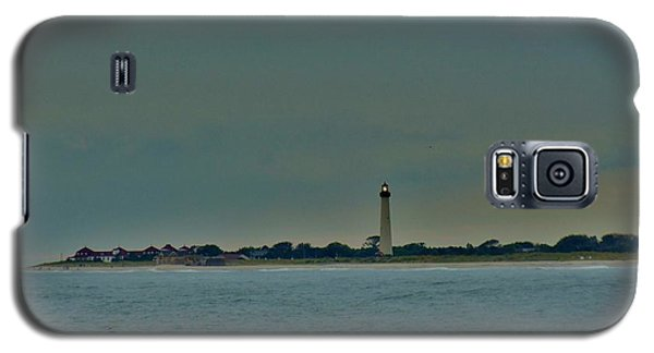 Galaxy S5 Case featuring the photograph Cape May Point by Ed Sweeney